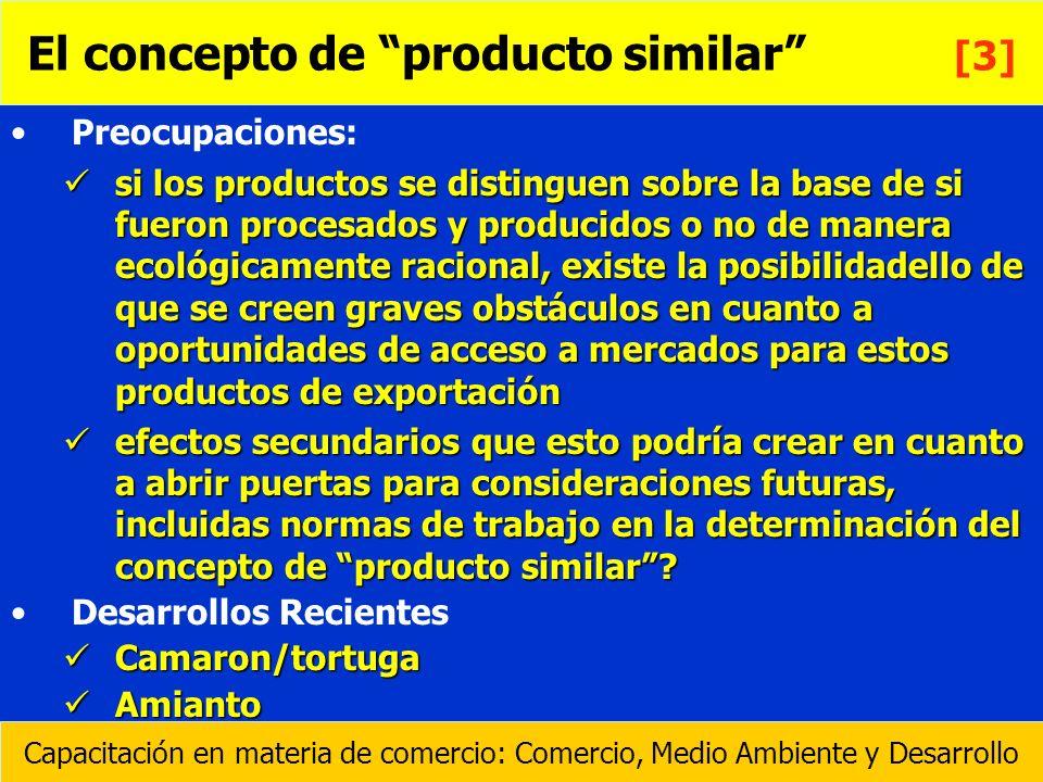 El concepto de producto similar [3]